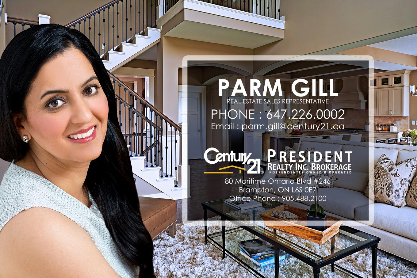 Parm Gill Contact Information